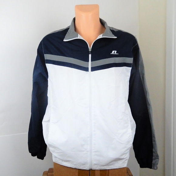 Russell Athletic Other - Russell Athletic Windbreaker Mesh Lined Jacket NEW